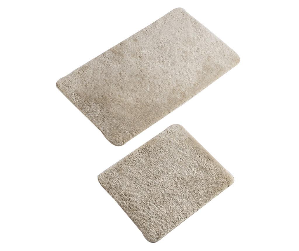 Plain Bone 2 db Fürdőszobai szőnyeg