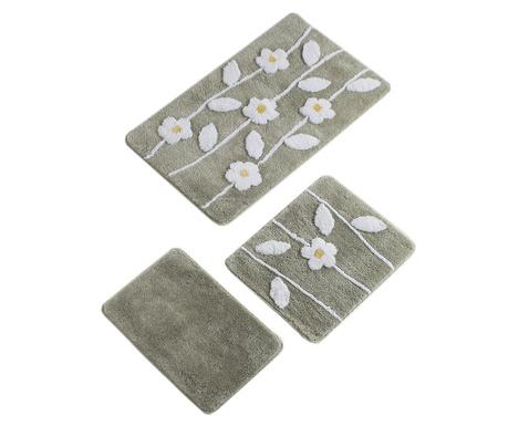 Talia Grey 3 db Fürdőszobai szőnyeg