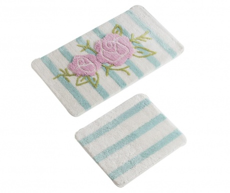 Rose Line 2 db Fürdőszobai szőnyeg