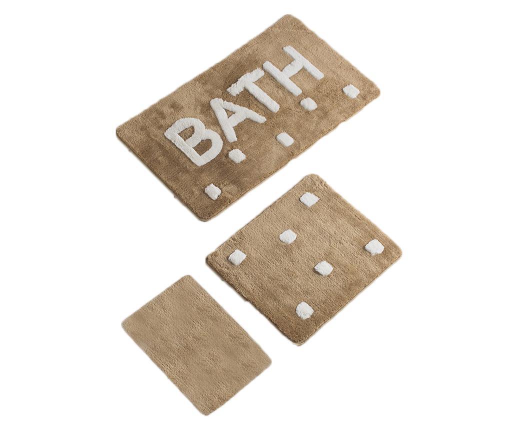 Bath 3 db Fürdőszobai szőnyeg