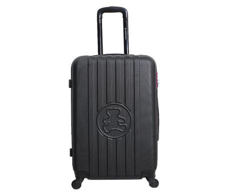 Kolieskový kufor Lulu Bear  Black