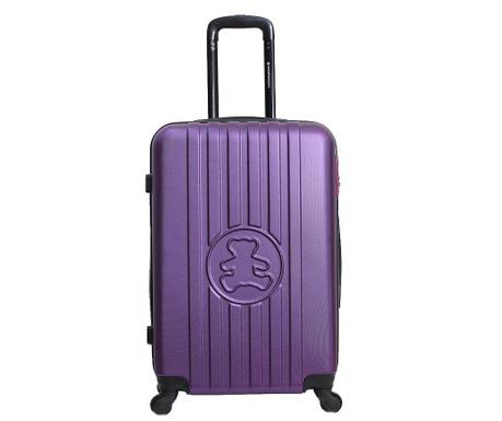 Kovček na kolesih Lulu Bear Violet