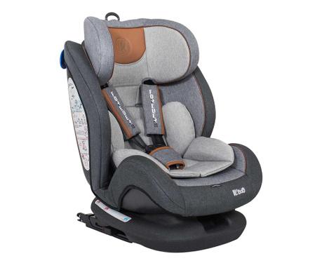 Scaun auto copii Forever Grey 0+ luni