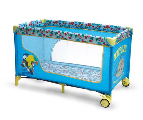 Tarc de joaca pentru copii Fun Blue Parrot