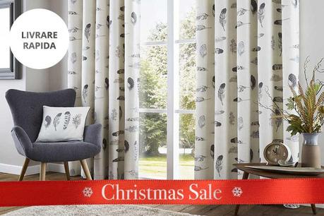Christmas Sale: Perdele si draperii