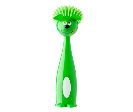 Perie de vase Tummy Dog Green