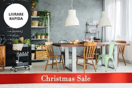 Christmas Sale: Bistro industrial