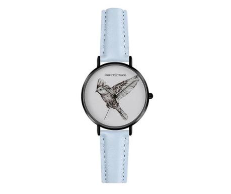 Γυναικείο ρολόι χειρός Emily Westwood Wings Classic Blue