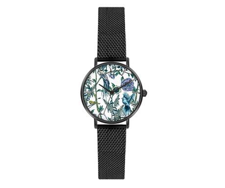 Γυναικείο ρολόι χειρός Emily Westwood Santiago Black