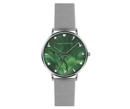 Γυναικείο ρολόι χειρός Emily Westwood Organna Silver