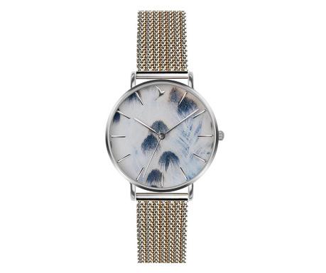 Γυναικείο ρολόι χειρός Emily Westwood Tanya Silver Gold