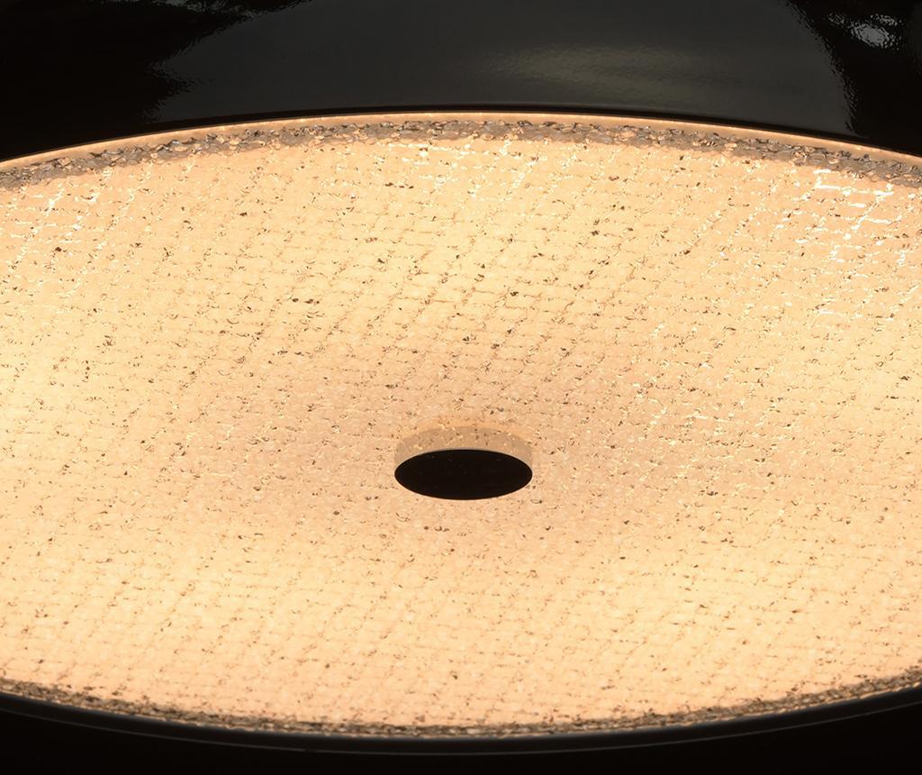 Stropna svjetiljka Bremen Black
