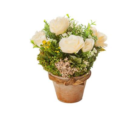 Lončnica iz posušenega cvetja Tanesha