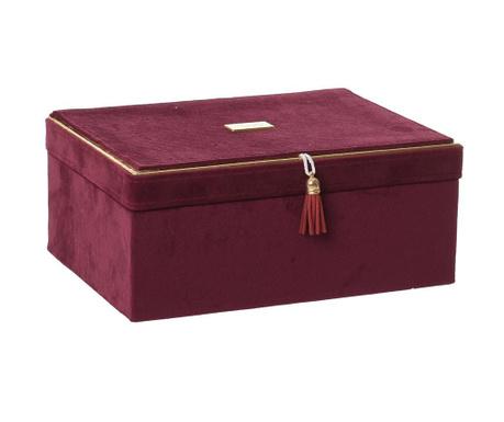 Cutie pentru bijuterii Juliette Burgundy