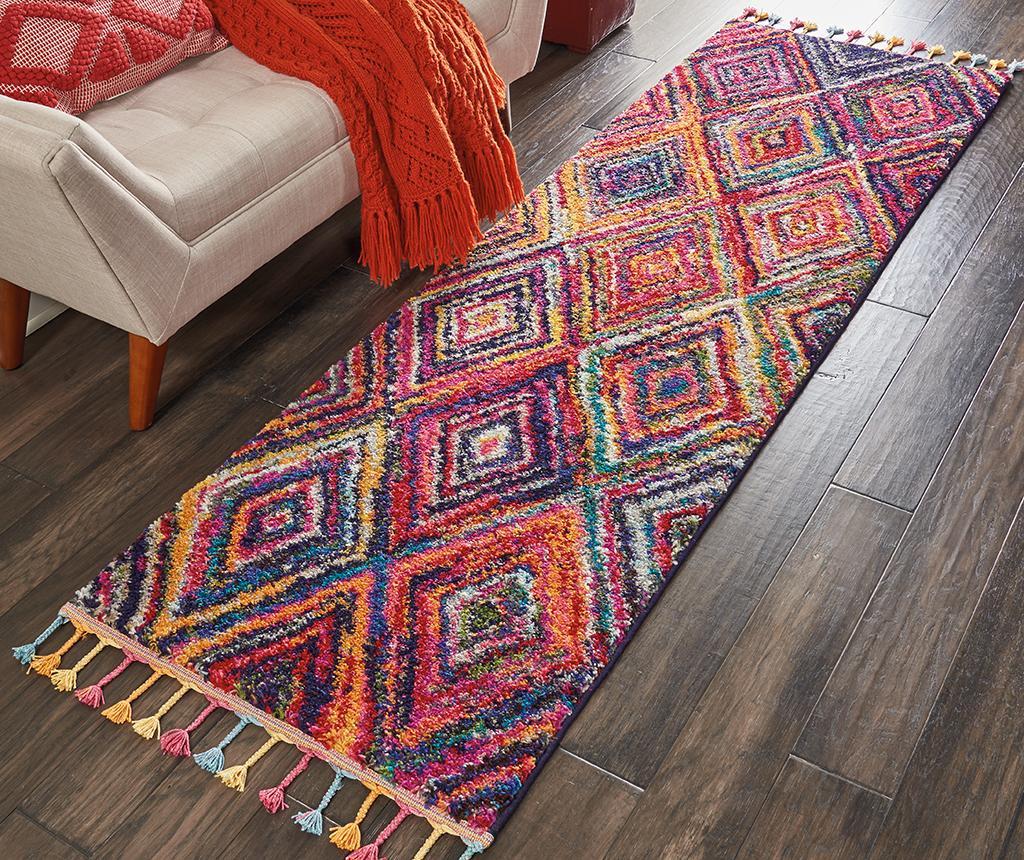 Tepih Rhombus Pattern 69x244 cm