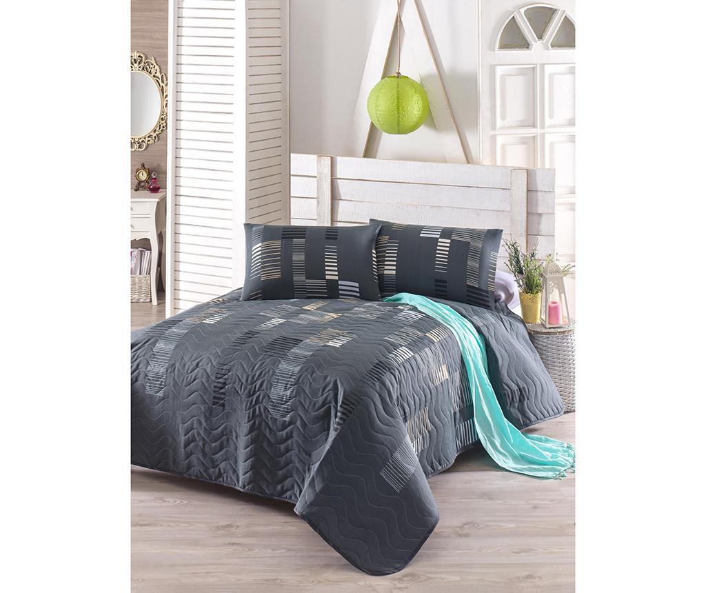 Trace Anthracit King Steppelt ágytakaró garnitúra