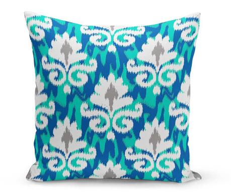 Διακοσμητικό μαξιλάρι Evie Blue 43x43 cm