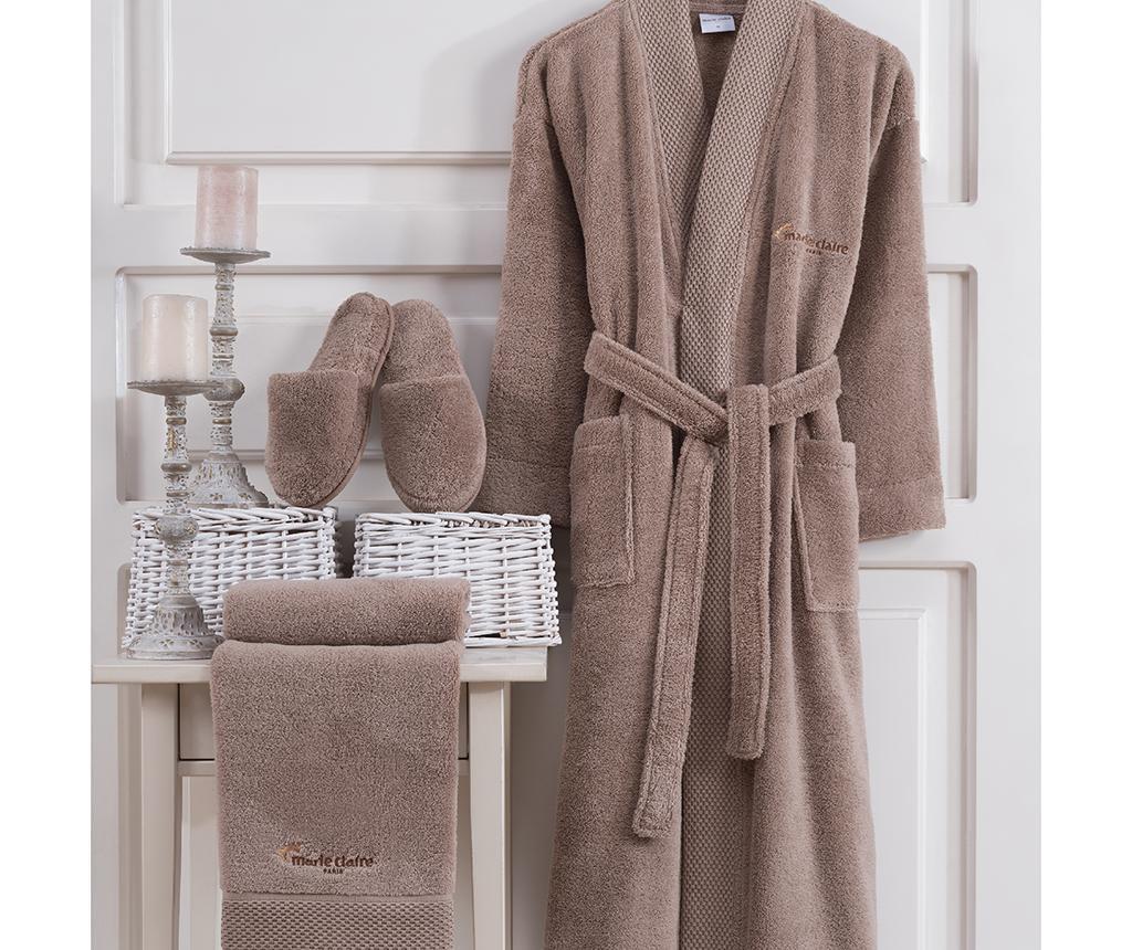 Jaina Taupe 3 darabos Fürdőszobai textília szett S