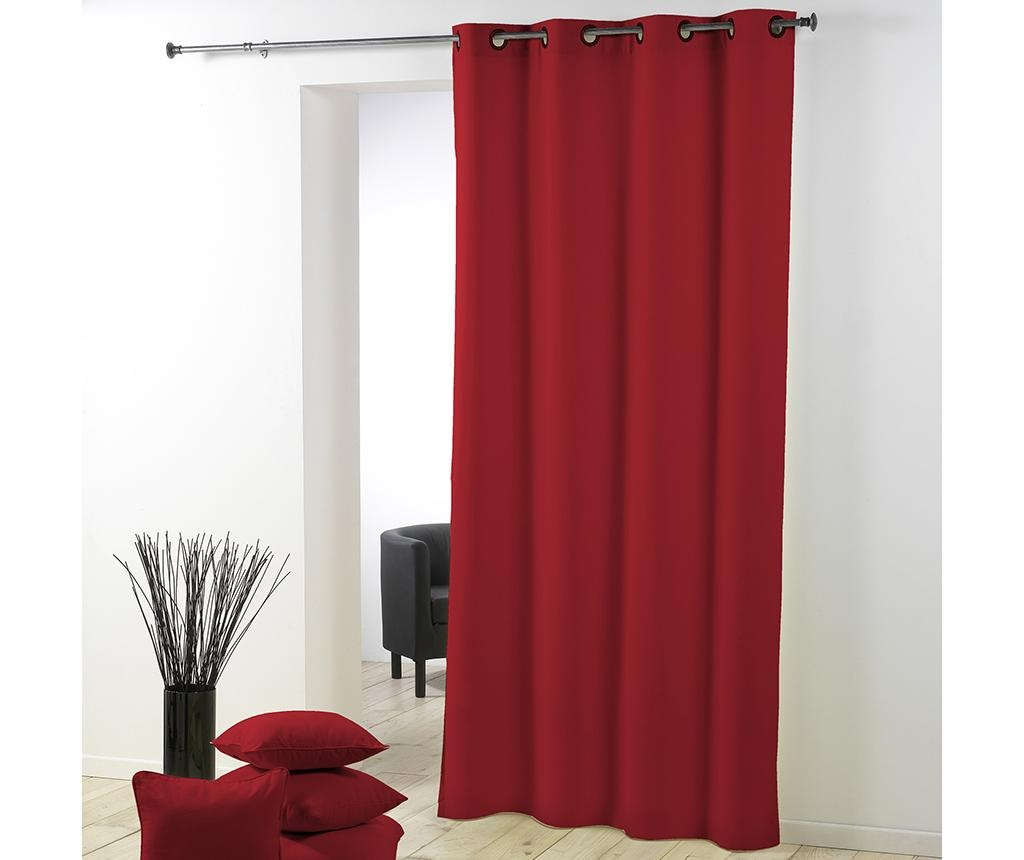 Zastor Essentiel Red 140x260 cm