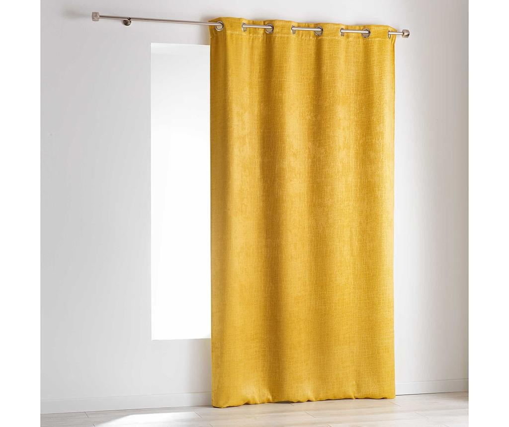 Závěs Opacia Yellow 140x240 cm