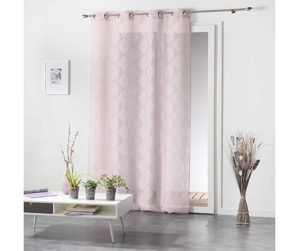 Perdea Lozae Pink 140x240 cm