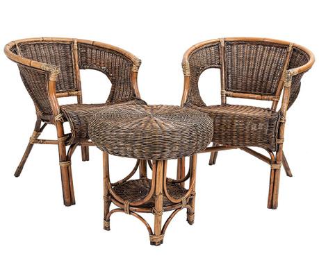 Set - mizica in 2 stola Rumuw