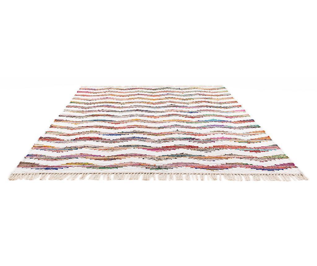 Preproga Boho Chindi Kilim Waves 160x230 cm