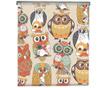 Rolo zavesa Cute Owls Colors 100x150 cm
