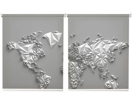 Sada 2 zatěmňovacích rolet Paper World 100x200 cm