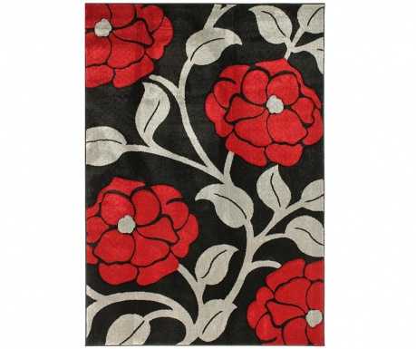 Tepih Vine Black & Red 200x290 cm