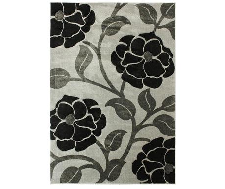 Tepih Vine Grey & Black 80x150 cm
