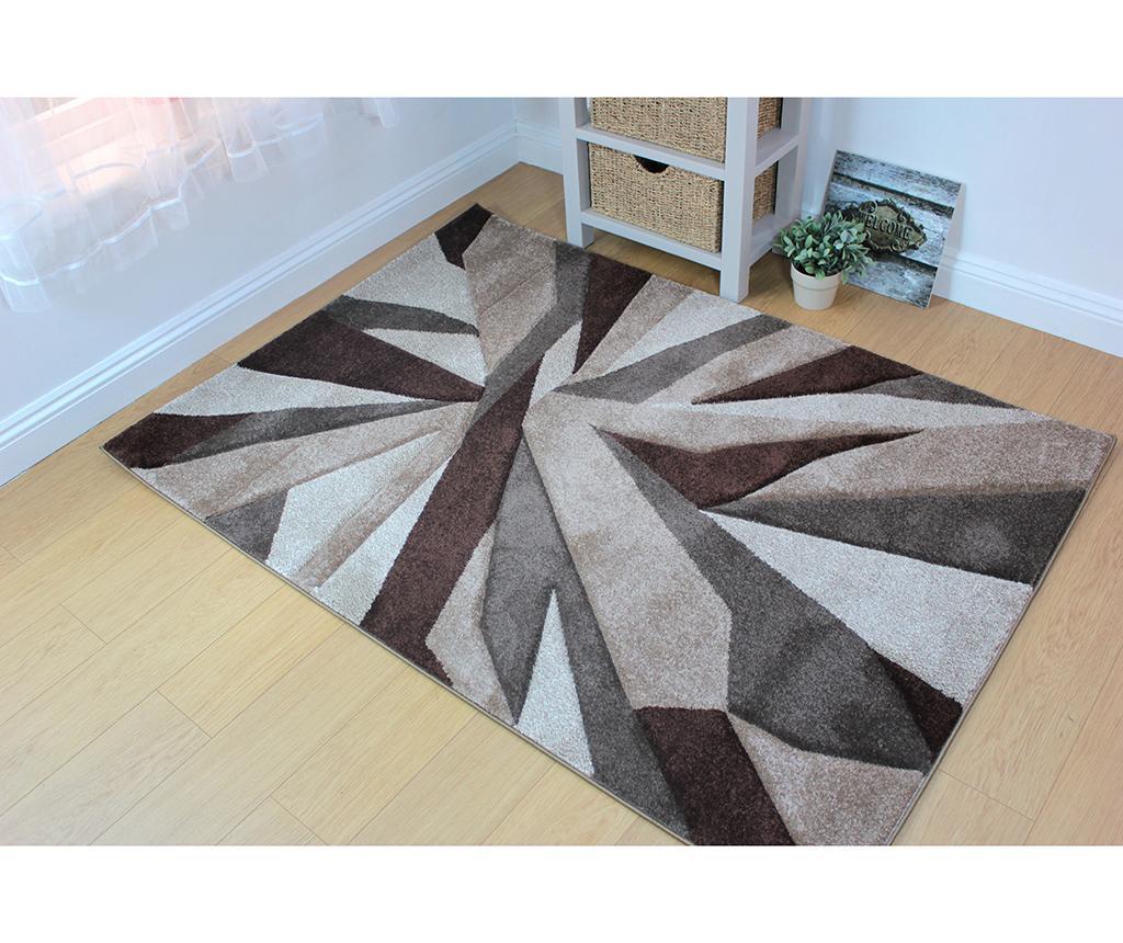 Covor Shatter Brown 200x290 cm