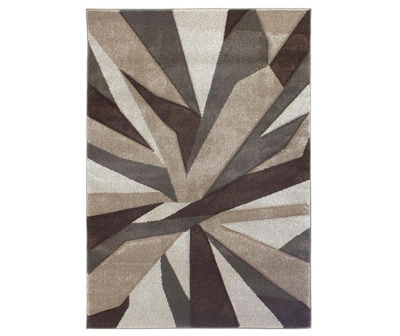 Covor Shatter Brown 160x230 cm
