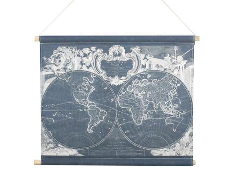 Zidni ukras Mappa Monde