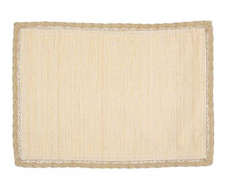 Pogrinjek Wilma Cream Gold 33x48 cm