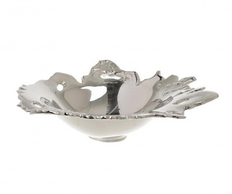 Bol decorativ Silver Bloom