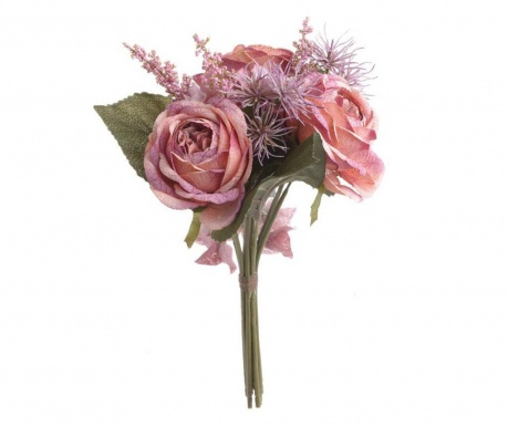 Buchet flori artificiale Pink Beauty