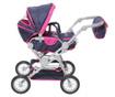 Voziček za lutko Twingo Blue Pink