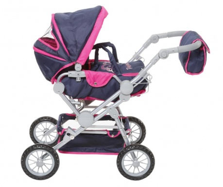 Kočík pre bábiku Twingo Blue Pink