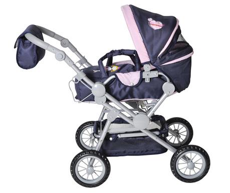 Kočík pre bábiku Twingo Blue
