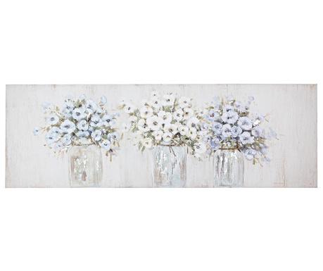 Obraz Jar Flowers 50x150 cm