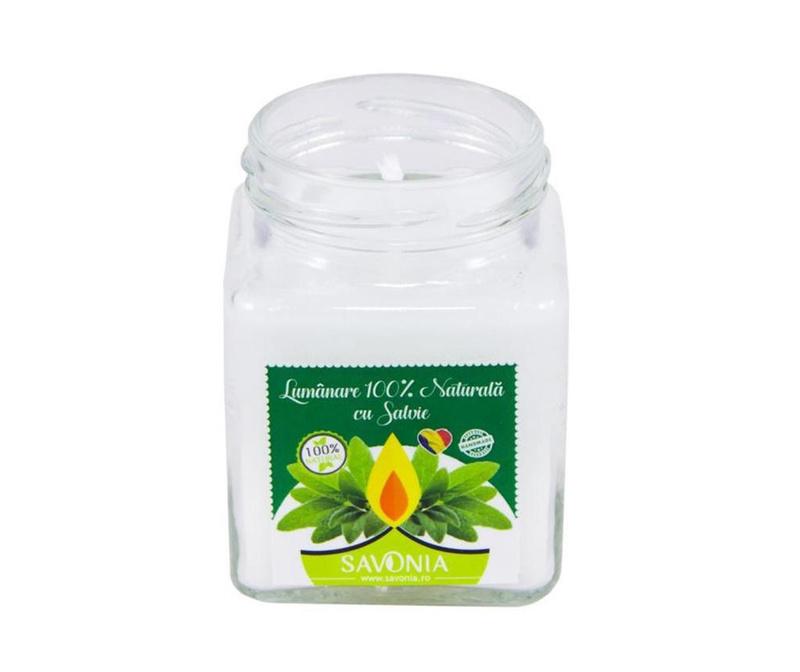 Lumanare parfumata Savonia Sage
