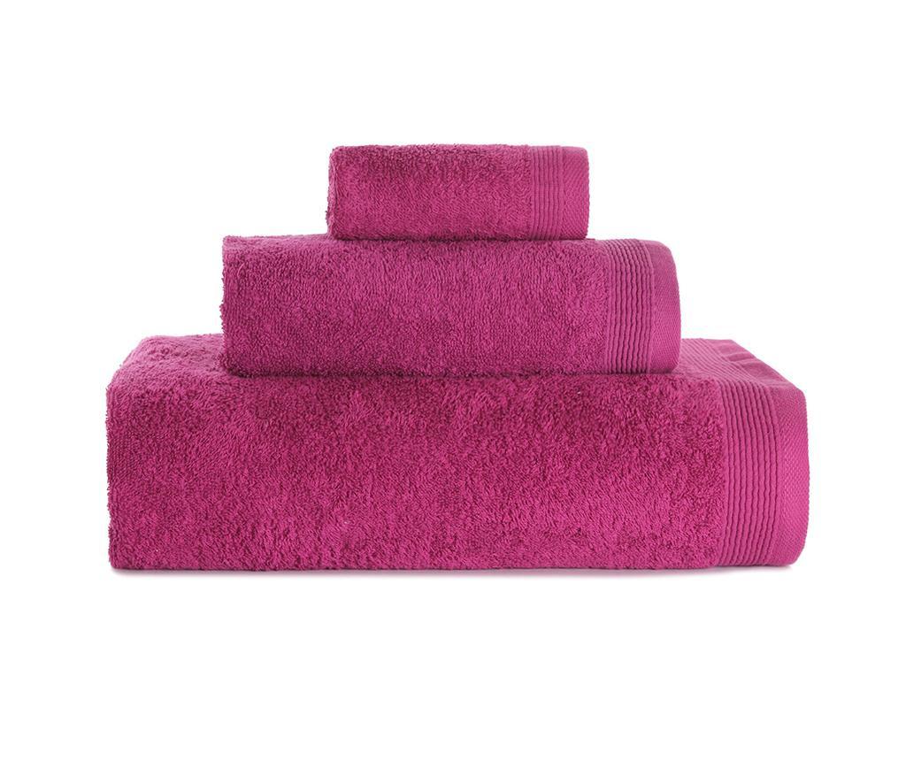 Set 3 kupaonska ručnika Delta Lilac