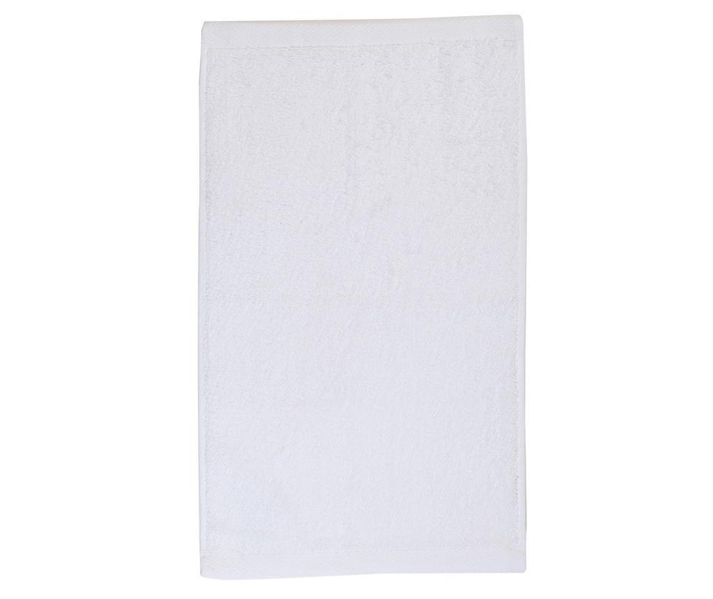 Prosop de baie Alfa White 30x50 cm