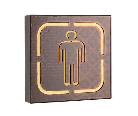 Nástěnná světelná dekorace Man