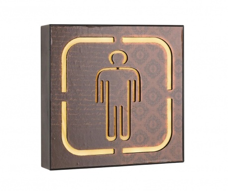 Nástenná svetelná dekorácia Man