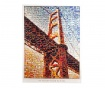 Obraz Sunset Oakland Bay Bridge 70x100 cm
