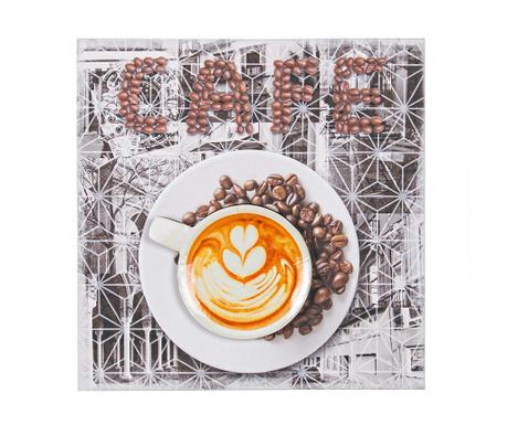 Obraz Cafe Vibez 40x40 cm