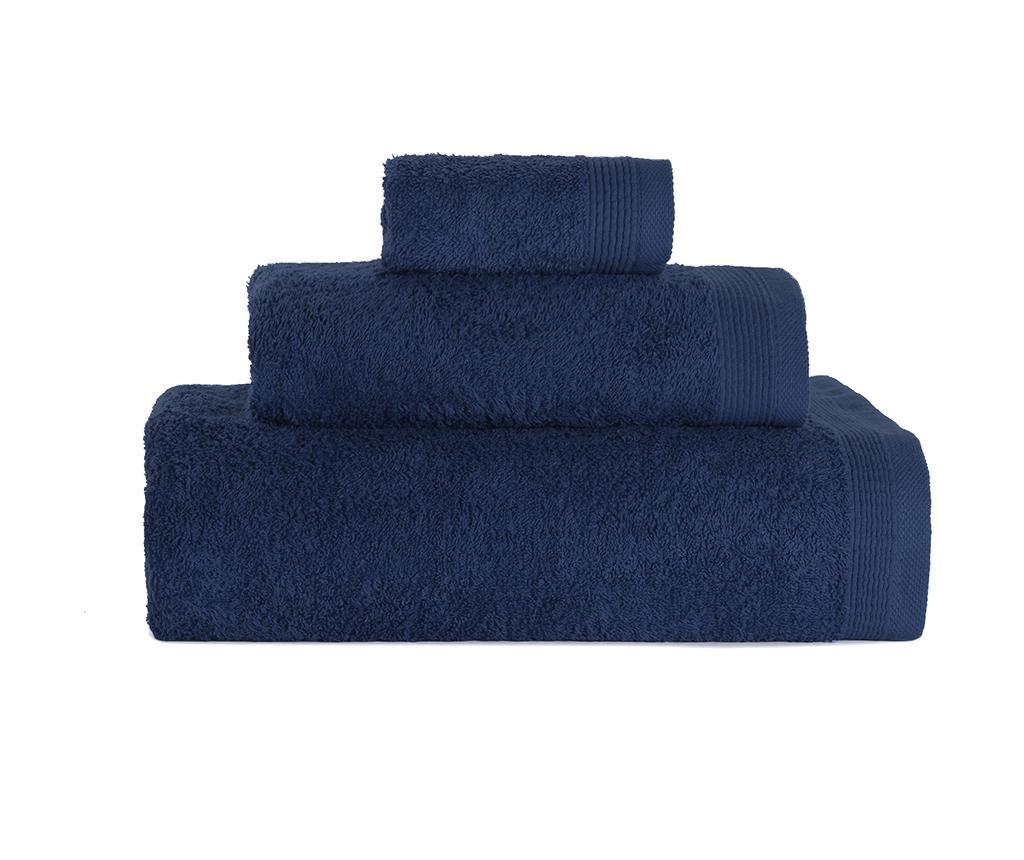 Delta Azul 3 db Fürdőszobai törölköző