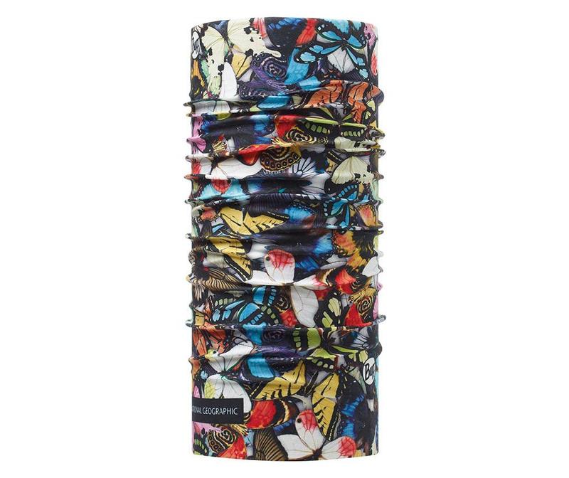 Bandana multifunctionala unisex Buff Wings 24.5x53 cm
